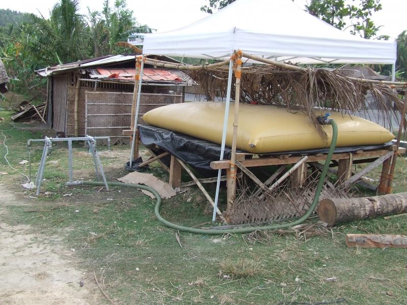 Citerne souple pour stockage d'eau