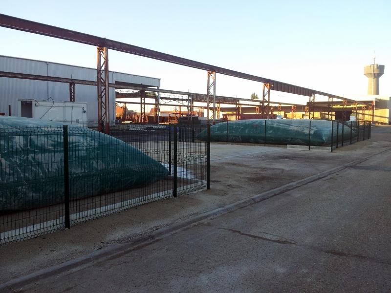 Citerne de stockage de fluide industriel