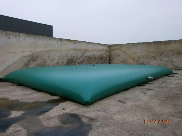 Citerne souple pour effluents industriels